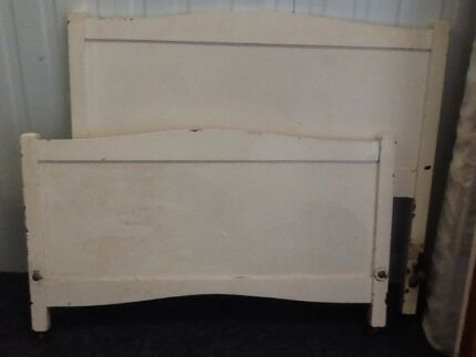 King single bed and mattress