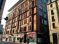 Modern city centre 2 bedroom flat for rent (Renfield Street)