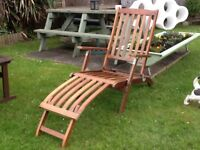 Collection of garden loungers