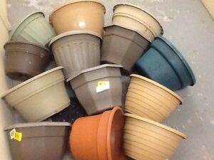 Flower pots (for seeding or replanting )-$15,25, 40 each batch