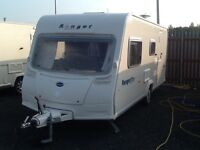 2008 Bailey ranger 510/4 berth end changing room