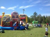 Events and party rentals bouncy castle