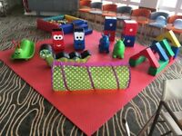 Soft Play and Bouncy Castle Hire Business INCLUDES 56 TRANSIT VAN
