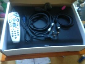 sky HD box includes cables and remote £25.00