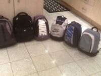 Any small rucksack/day pack £5each-they are ideal for school bag size