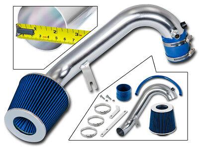 Blue Civic Air Intake System - BCP BLUE 2001-2005 Civic 1.7 AT/MT Short Ram Air Intake +Filter