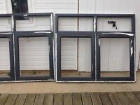 PVC double glazed units with glass (new)