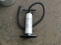 DOUBLE ACTION HAND OPERATED AIR PUMP
