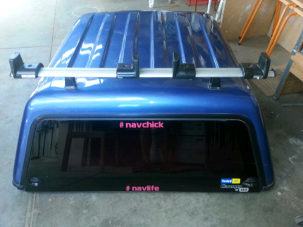 ARB Canopy for D40 Nissan Navara dual cab with roof racks