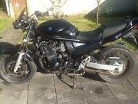 Suzuki 650 bandit s with abs new mot today may pt ex another bike
