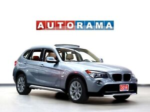 2014 BMW X1 NAVIGATION LEATHER PANORAMIC SUNROOF 4WD BLUETOOTH