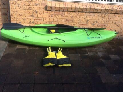 Wanted: Kayak