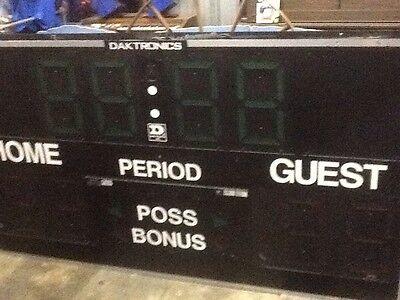 Electronic Scoreboard Daktronics