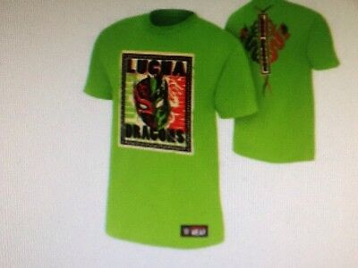 Brand New Official WWE Lucha Dragons  T Shirt Size 5XL