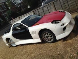 Widebody Mazda Rx7 (project) £9000 near complete car may consider px with cash