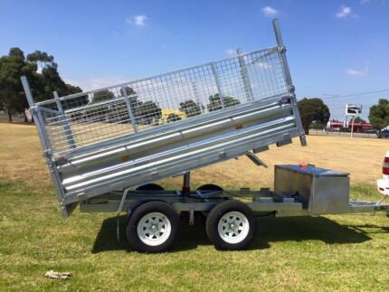 10X5 HYDRAULIC TIPPER HOT DIP GALVANISED ON SALE NOW