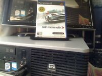 play station 2 games three all boxed