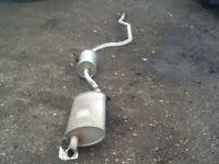 Ford Fiesta 1.25ltr cat back exhaust system