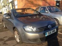 2012 VW Golf Cabriolet 1.6 Diesel, road tax only £30