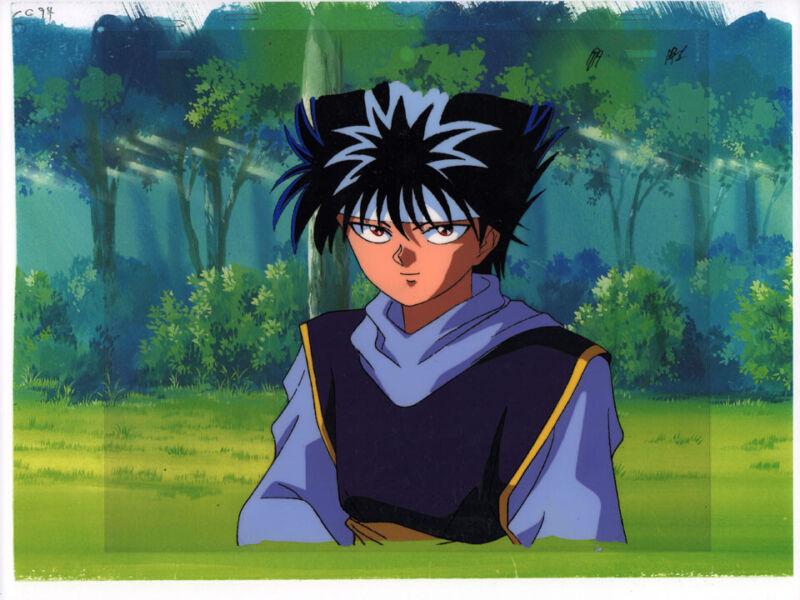 Yu Yu Hakusho Anime Animation Production Cel Hiei Dark Tournament Studio Pierott