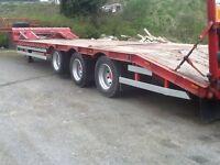 43ft McGrath low loader