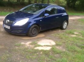 VAUXHALL CORSA NEW-SHAPE 2009/1.3 CDTI EYE-CATCHING COND ONLY 55000 MILES, MOT OCT 2018 ONE OWNER