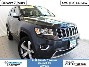 2015 Jeep Grand Cherokee LIMITED AWD TOIT FULL EQUIPE