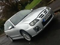 2006 MG ZR 1.4 3 DOOR 105 HATCHBACK WITH WARRANTED LOW MILEAGE AND WITH 12 MONTHS WARRANTY