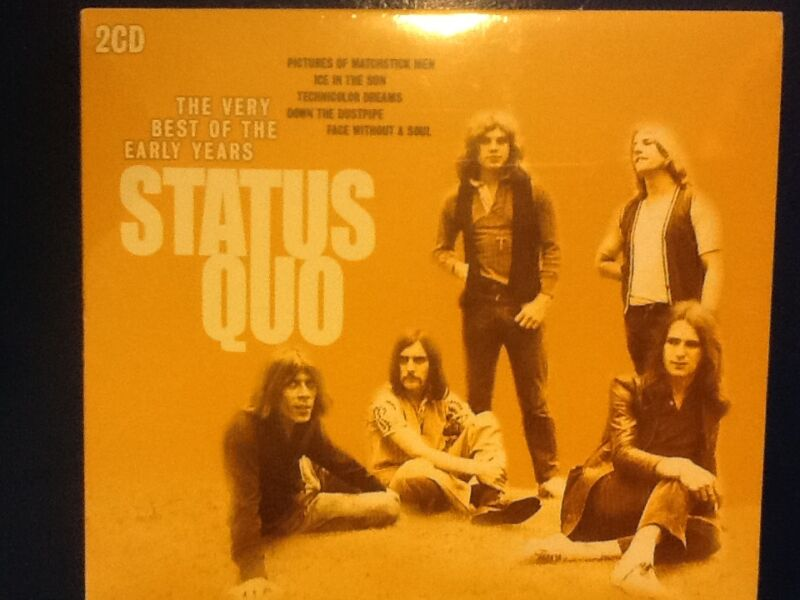 STATUS.+QUO.++++++++++VERY+BEST+OF+THE+EARLY+YEARS.++++++++++TWO+COMPACT+DISCS+