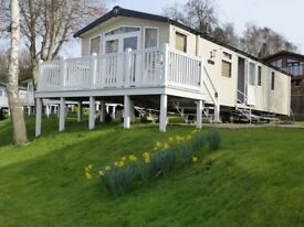 Caravans on Award Winning Rockley Park for Hire