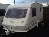 1996 elddis glen 470/2 berth end changing room with fitted mover