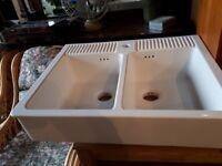 Double Butler Sink Kitchen