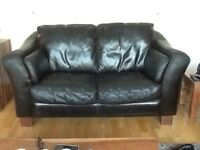 3 leather sofas and 1 leather chair