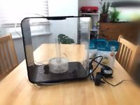 BiOrb Flow 15 Fish Tank (15L) + heater & new model pump - £50 (Collection from Brixton area)