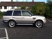 Range Rover 4.0 gas conversion fully loaded