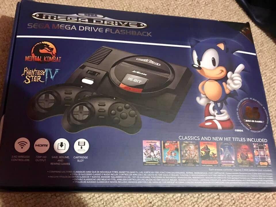 Sega mega drive flashback console | in Harpurhey, Manchester | Gumtree