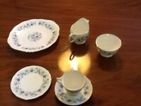 English, Fine Bone China Tea Set