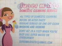 Supermaids cleaning , carpet cleaning , ironing service