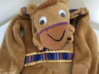 Camel fancy dress costume age 9-10 years £6 (new) collection from Shepshed.
