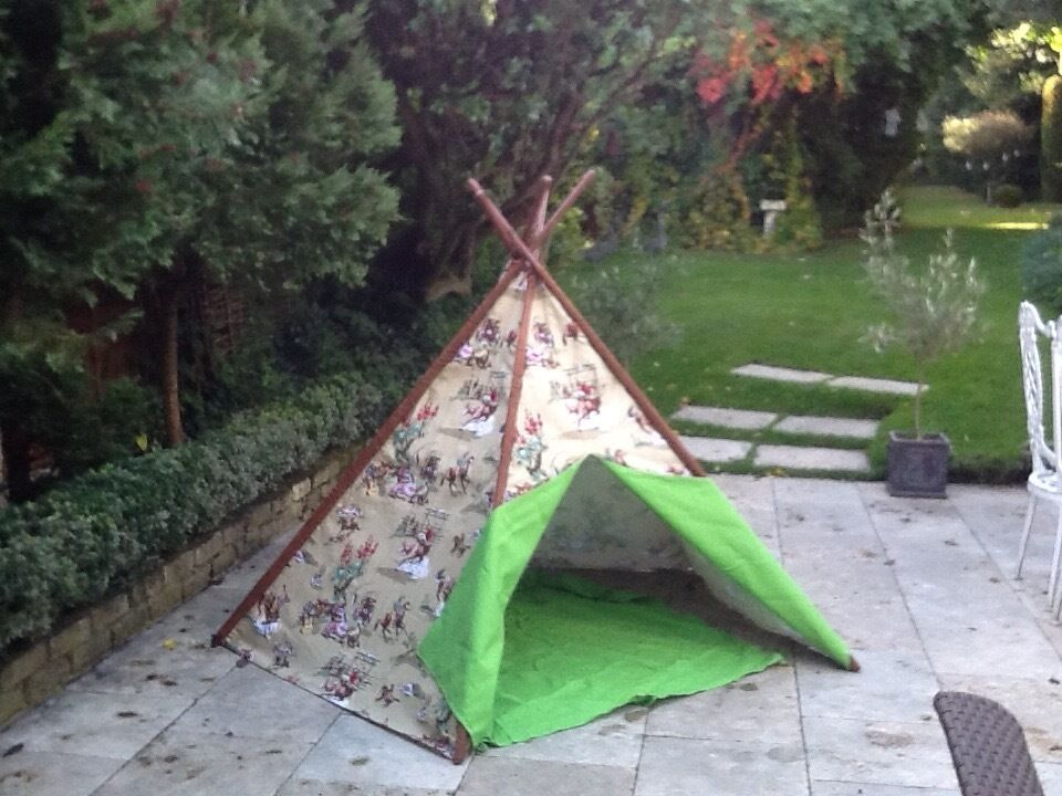 Boys and girls children wigwam tents