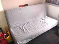 Ikea double sized sofa bed ~ never been used ~ brilliant condition!