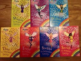 Rainbow fairy book collection - every day of the week!
