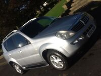 2005 SSANGYONG REXTON 2.7 TDI RX270 SE5 AUTOMATIC WITH FULL LEATHER INTERIOR
