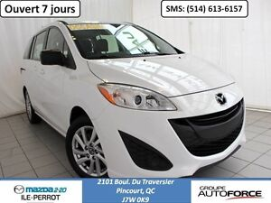 2013 Mazda Mazda5 GS MANUELLE A/C 6PASSAGERS
