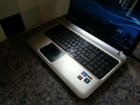 "HP DV6 15.6"" LAPTOP, FAST QUAD CORE i7, 8GB, 1TB, WIFI, WEBCAM, BLUETOOTH, DVDR, HDMI, 1GB RADEON"