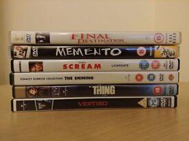 Job lot of 6 DVDs