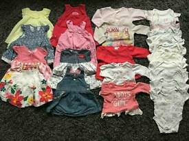 Baby Girls Bundle 0-9m