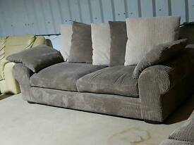 X2 large 3 seater sofas. Can Deliver