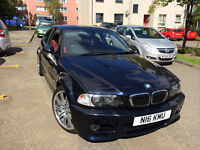 BMW E46 M3 in stunning condition