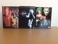 24 - Seasons 1, 2 & 3 box sets.